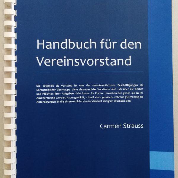 Handbuch für den Veieinsvorstand